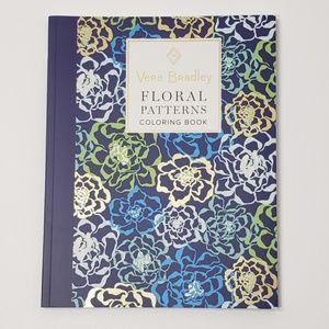 Vera Bradley Floral Patterns Adult Coloring Book